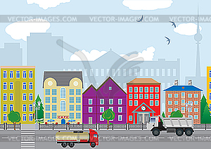 City - vector image