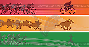 Sport-Banner - Clipart-Design