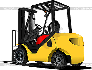 Lastaufzug-Auto - vektorisiertes Bild