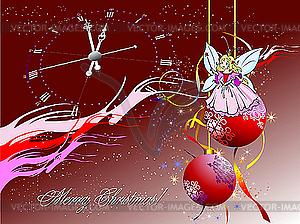 Weihnachten silvester nacht vector clipart vektorgrafik - Lightbox weihnachten ...