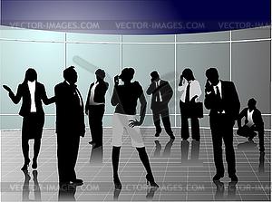 Geschäftsleute - Vector-Clipart / Vektor-Bild