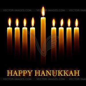 Hanukkah - Vector-Design