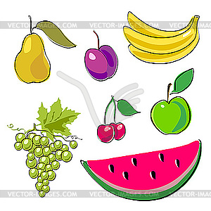 Obst - Clipart-Design