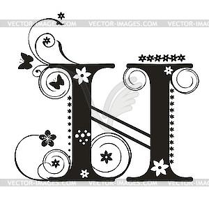 Letter H Designs
