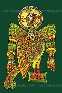 Keltischer Adler - Vektor-Design