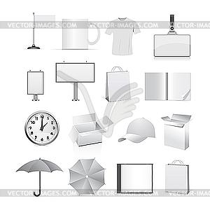 Vorlagen für Firmenstil - Clipart