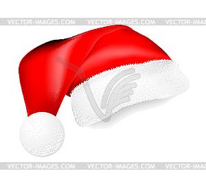 Rote Nikolausmütze - Vektor-Abbildung