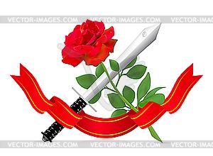Aus Liebe zum Haß - Vektor-Clipart / Vektor-Bild