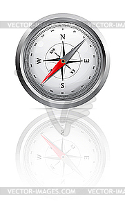 Glänzender Kompass - Vector-Clipart