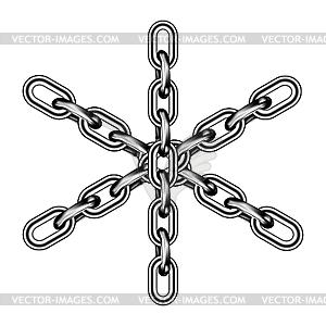 Eisenkette - Vector-Clipart EPS