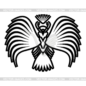 Adler Symbole und Tattoo,. - Vector Clip Art