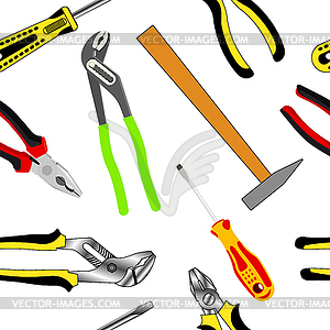 Construction Of Hand Tools Clipart