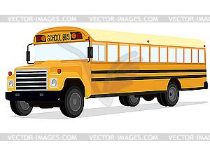 Schulbus - Vektor-Klipart