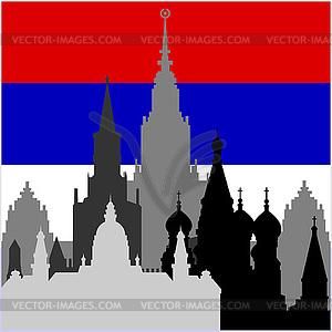 Russische Architektur - Clipart-Design