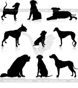 Собак клипарт в векторном формате