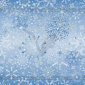 Blauer Weihnachtshintergrund - Vektor-Clipart / Vektor-Bild