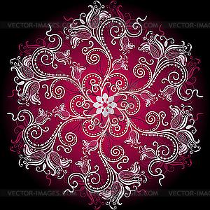... круглый орнамент - рисунок в векторе: vector-images.com/clipart/clp174138/?lang=rus