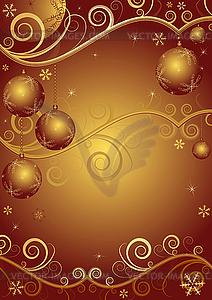 Rot goldene weihnachten rahmen vektorgrafik design - Lightbox weihnachten ...