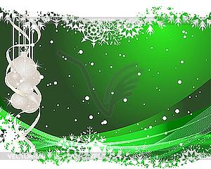 Weihnachtskarte - vektorisiertes Design