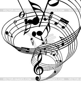 top vektor musiknoten hintergrund - photo #33
