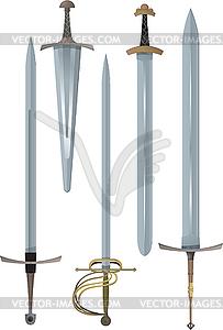 Schwerter - Vektor-Klipart