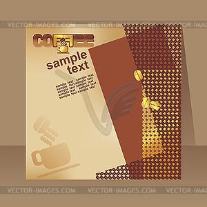 Кофе листовки, брошюры - клипарт: vector-images.com/clipart/clp279831/?lang=rus
