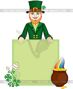Leprechaun - Vektorgrafik