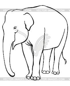 Elefant - Vektor-Clipart EPS