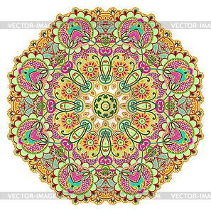 Kreis Ornament, ornamentale runden Spitzen - Vektor-Clipart / Vektor-Bild