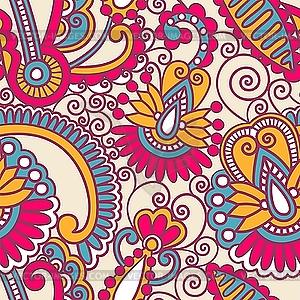 Бесшовная текстура обои с цветами 3