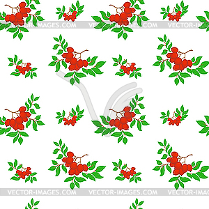 Ash seamless pattern - Stock-Clipart