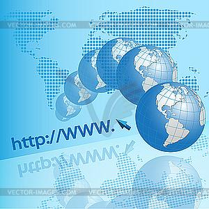 Internet-Textur - Vector-Clipart / Vektor-Bild