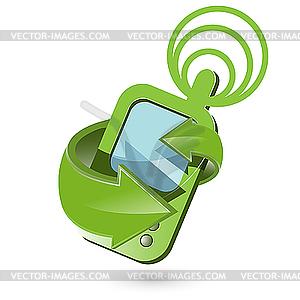 Telefon - Vektorgrafik-Design