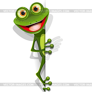 Jolly Green Frog - Vector-Bild