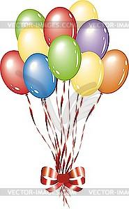 Luftballons - Vektor-Klipart