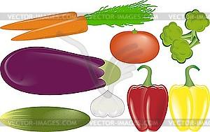 Gemüse - Vector-Clipart / Vektor-Bild