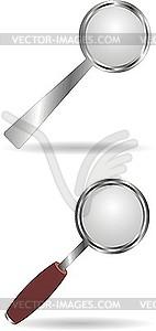 Lupen - Vektor-Clipart / Vektor-Bild