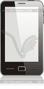 Berühren Smartphone - Vector-Clipart