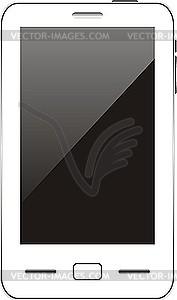 Berühren Smartphone - Vektor-Clipart EPS