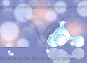 Molekül, molekulare Struktur, Wissenschaft abstrakt - Vektorgrafik-Design