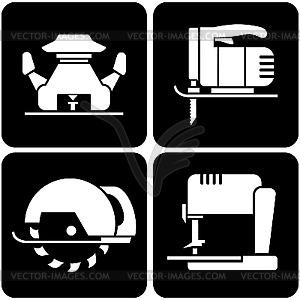 Set von Icons Werkzeugen - Vektor-Clipart / Vektor-Bild