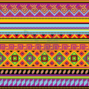 Mexican background - vector clipartZarape Clipart