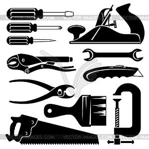 Handwerkzeuge - vektorisiertes Bild