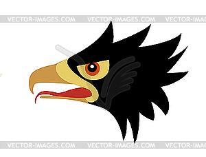 Zeichnung Leiter des gefräßigen Vogel - vektorisierte Grafik