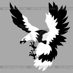 Adler Zeichnung - Royalty-Free Vektor-Clipart