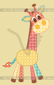 Applikation Giraffe - Vector-Bild