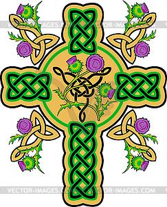 Keltisches Kreuz - Vektor Clip Art