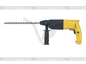 Bohrhammer - vektorisiertes Clip-Art