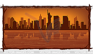 New York - Vector-Clipart / Vektorgrafik