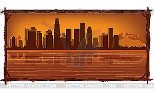 Los Angeles - Vektor-Clipart